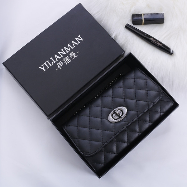 Taschen für Frauen 2019 Luxus-Tasche Single Criss-Cross-Ketten Fashion Messenger Bags Berühmte Designer-Handtaschen Leder