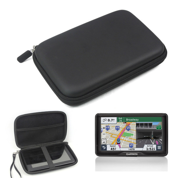 "7"" Inch Hard Outdoor Traveling Protect Case Bag Portable Bag Cover For 6"" 7'' Garmin Nuvi Kindle Fire Magellan GPS"