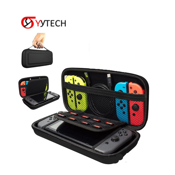 Consola de juegos SYYTECH Bolsa de transporte Estuche rígido Bolsa de viaje Bolsa protectora para Nintendo Switch NS