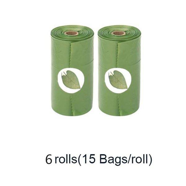 6 롤 녹색