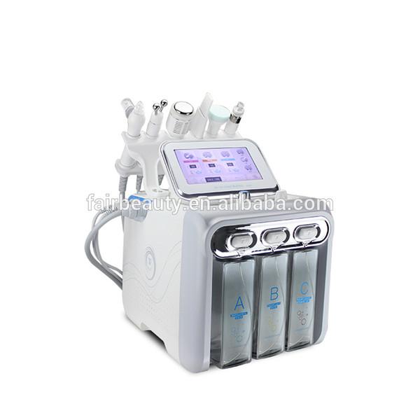 Macchina per microdermoabrasione ad ultrasuoni con getto facciale di ossigeno all'idrogeno 6 in 1 Aqua Peel Machine