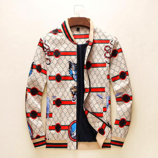 8LouisVuittongucciİtalyan markası Erkekler kadınlar lüks ceket Moda Casual mektup baskı Giyim ceket En kaliteli A29