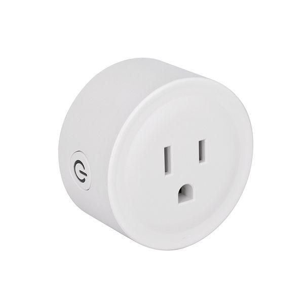 Mini Smart Home WIFI Power Plug Compatible con Alexa Sonoff Wifi Socket Outlet Automatización Aplicación de teléfono Interruptor de sincronización Interruptor de control remoto EE. UU.