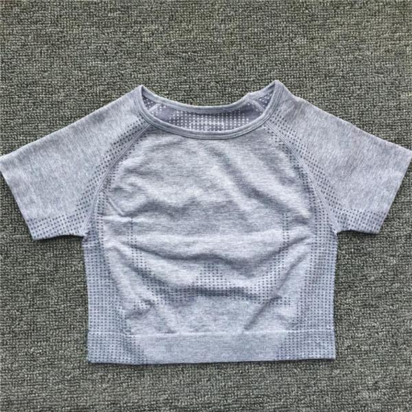 Gray Short Top