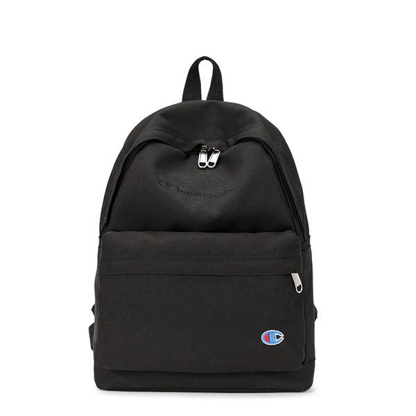 2019 Brand Fashion Luxury Designer Backpacks Champion Letter Shoulder Bag Men Large Capacity Schoolbags Students Travel Storage Bag C7402