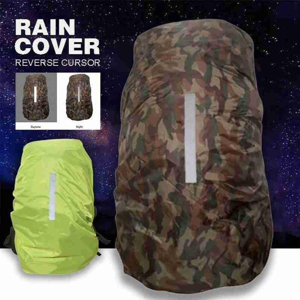 Outdoor Waterproof Rain Cover Travel Camping Backpack Dustproof Raincover