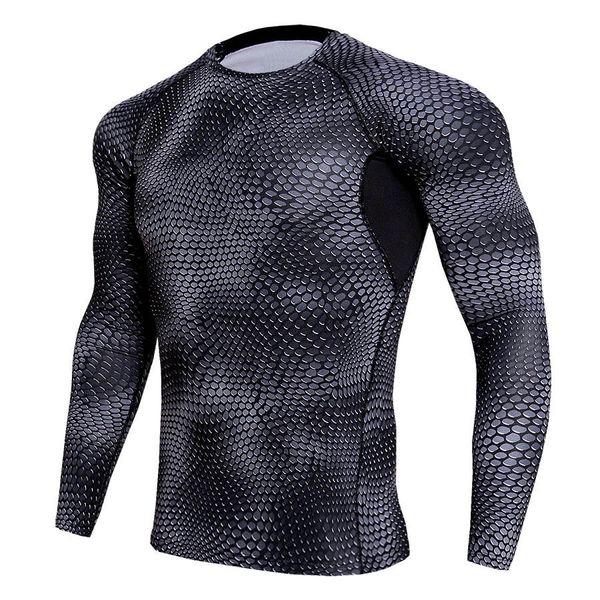 Wholesale Men T shirts Trousers Men's Sportswear Compression Suit Joggers Fitness Base Layer Shirt Leggings Rashguard Clothes