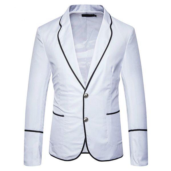2019 New Arrivals Men Casual Suit Business Style Fashion Design Men's Long Sleeve Slim fit Suits Masculine Blazer Suits EU size