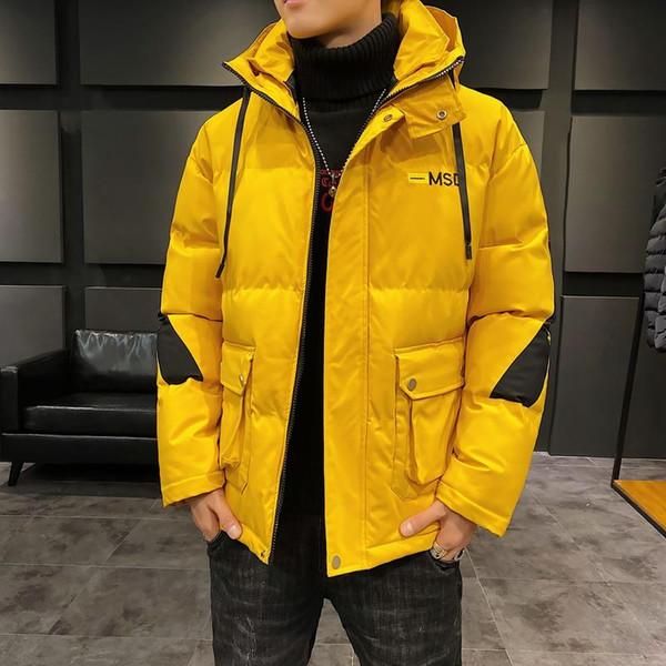 Hombres diseñador de las mujeres de la chaqueta al aire libre a prueba de viento caliente de la capa con capucha larga de los deportes de invierno de la marca rompevientos Ropa para Hombre Tamaño más abajo chaqueta MY1968