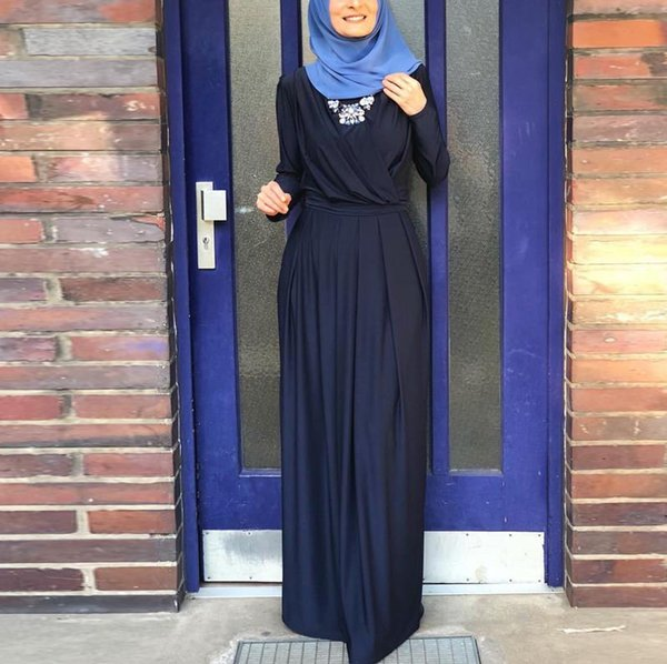 Dark blue dress S