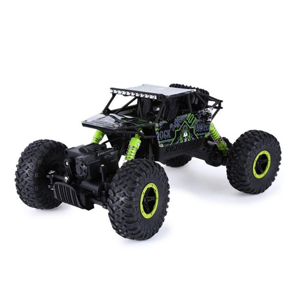 Venta caliente Rc Car 2 .4ghz 4wd 1/18 4 ruedas motrices Rock Crawler Rally Car 4x4 Double Motors Bigfoot Car Off-Road vehículo juguetes