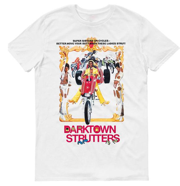 DARKTOWN STRUTTERS, КИНО, МУЖСКАЯ ФУТБОЛКА,Хлопок 100%, G0010 мужчины женщины мужская мода футболка Бесплатная доставка