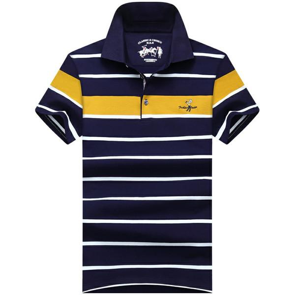 polo design uomo t-shirt da uomo polo moda uomo maniche corte risvolto camicia estate pullover pullover t-shirt YE8868