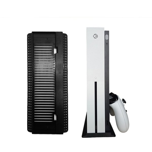 Оптовая NEW Xbox One / S Вертикальная подставка Cooling док-станции черный для Xbox Сжатый Бесплатная доставка
