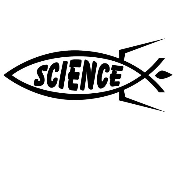 Sticker Car Decal JDM Die cut - Science fish Motorcycle SUVs Bumper Car Window Laptop Car Stylings