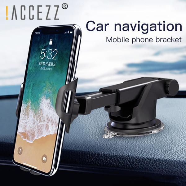 Belüftung Handy Autohalterung Für Samsung Huawei Handyhalterung 360 Grad Drehung GPS Navigation Schwerkraft Saugnapf Halterung