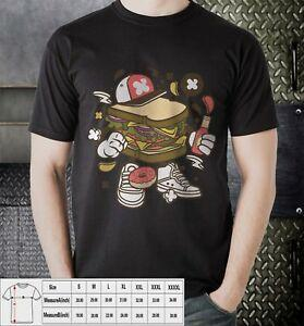 Sandwich Donuts Sauce Five Color Shirts T-shirt Available