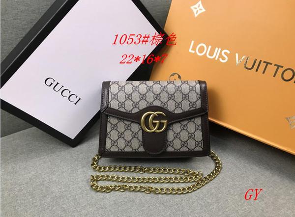 Classic Designer Flap Bag Womens Chain Bag Ladies Shoulder Bag High Quality Handbag Fashion Designer Purse Shoulder Messenger Bags wallet 50