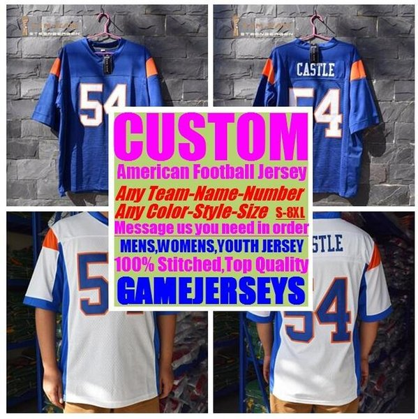 Personalized american football jerseys College cheap authentic baseball sports jersey stitched mens womens youth kids 4xl 5xl 6xl 7xl 8xl