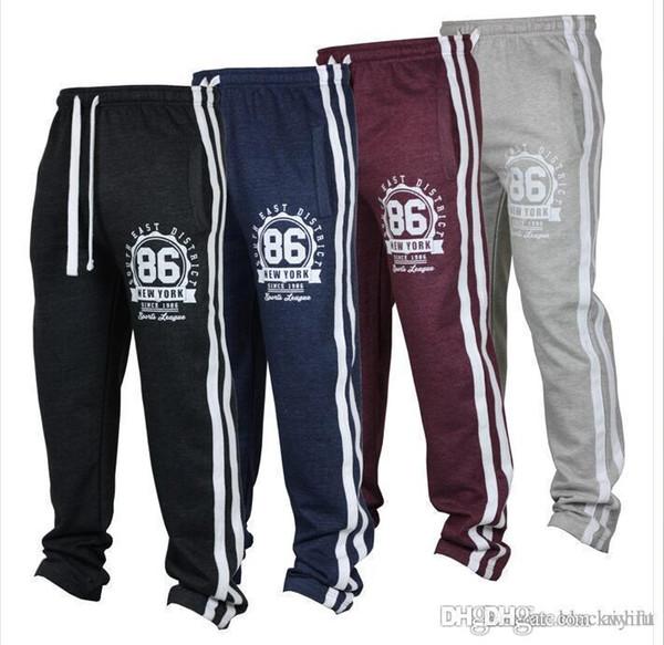 Yüksek Marka Toptan Erkekler '; S Joggers Rahat Harem Sweatpants Spor Pantolon Erkekler Spor Altları Parça Eğitim Koşu Pantolon Ücr ...
