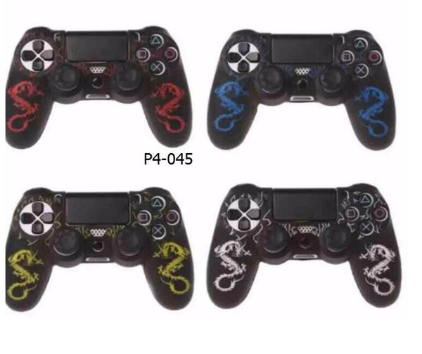top popular PS4 Wireless Controller for Soft Silicone Gelskin Protective Rubber Cover Case 2019