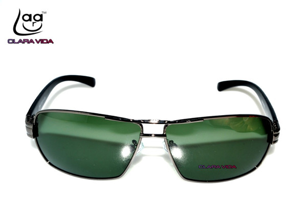 2017 Promotion Rushed Adult Men Black Sunglasses Sport Classic Vintage Retro Navigation Polarized Fishing Driving Sunglasses 081