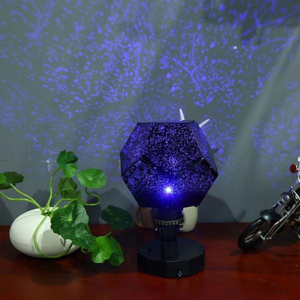 Romantic Night Light Projector Star Sky Projection Cosmos Night Lamp For Children Bedroom Decoration Lighting Gadgets Novelty Lighting