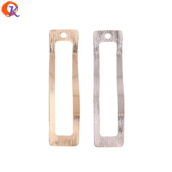 wholesale 100Pcs 12*45MM Jewelry Making/Earring Connectors/Rectangle Shape/Copper Accessories/Hand Made/Earring Findings