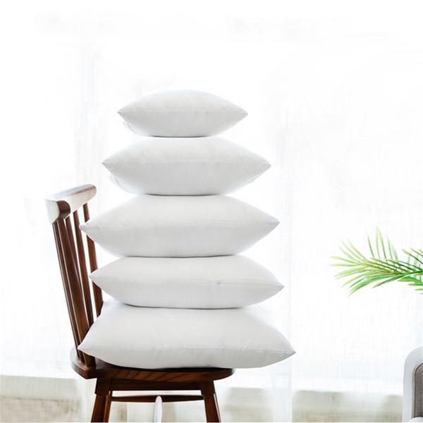 Weiß Kissen Insert Weiche für Auto Sofa Stuhl Alternative Dekokissen Kerninnen Füllung Sitzkissen 40-70cm20