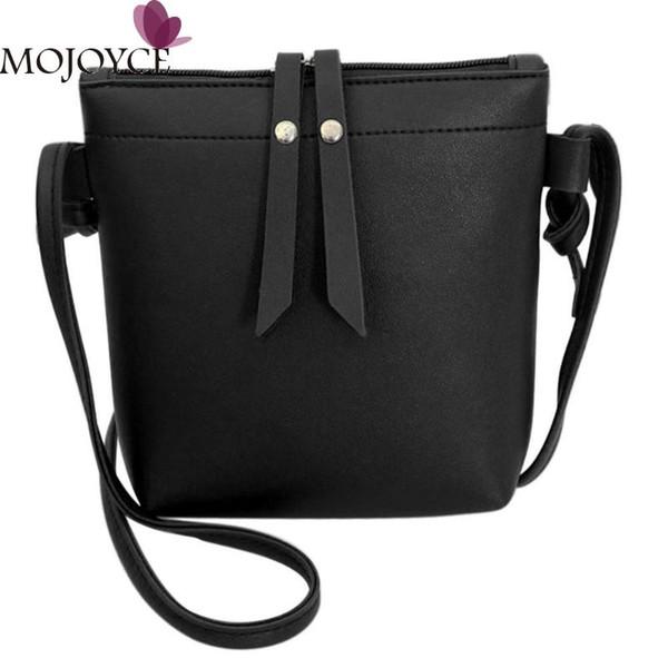 Ladies New PU Leather Mini Messenger Bags Pure Color Casual Zipper Shoulder Handbag Female Summer Fashion Shopping Crossbody Bag #216038