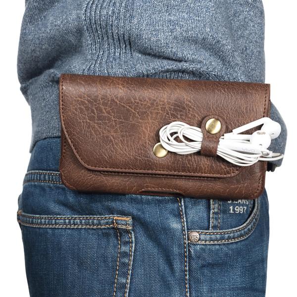 Cinto de cinto clipe coldre bolsa de telefone bolsa malas para asus zenfone max pro (zb601kl zb601kl zb602kl zb556kl zb555kl, zenfone 5 lite 5z