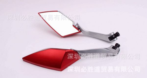 by DHL/Fedex 20pair optional moto side mirror 10mm 8mm ATV Off-road dirt pit bike scooter motorbike rearview motorcycle