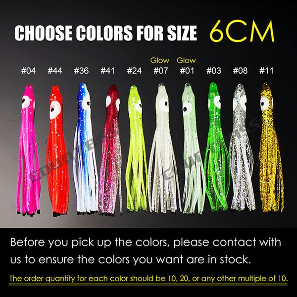 6cm Choose Colors