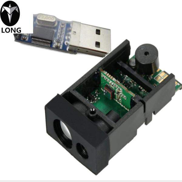 50m/164ft Laser Distance Measuring Sensor Range Finder Module Low cost Diastimeter Single & Continuous Measurement