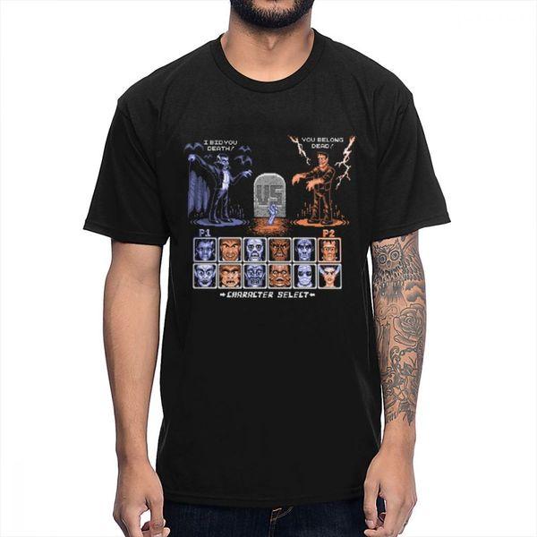 Jeux d'arcade classiques T-shirt Combattant de monstres Rétro O-cou S-6XL Tee shirt Grand Homme