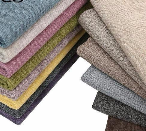 Solid Cotton Linen Fabric For Patchwork Quilting/DIY Sewing/Sofa Table Cloth/Furniture Cover Tissue/Cushion Meter