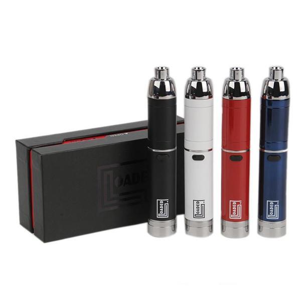 Yocan Loaded Kit E-cigarette Kits Vape Pen Built-In 1400mAh Battery Vaporizer Pen Quad Quartz Coil Dual Quartz Coil Starter Kits Vape