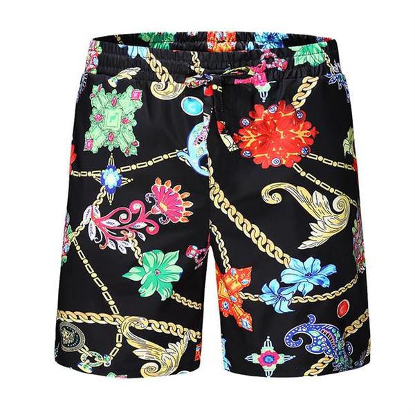 19ss Summer Fashion Shorts New designer Board short Quick Drying SwimWear Printing Board Beach Pants Men Mens Swim Shorts. V1769