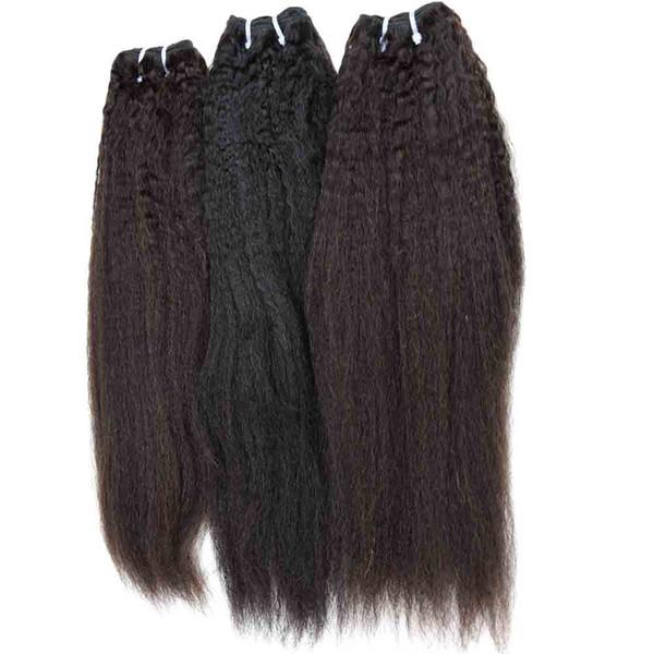 El cabello humano peruano brasileño de la Virgen teje 3/4/5 paquetes rizado indio indio camboyano mongol Sin procesar Trama del pelo 26 pulgadas