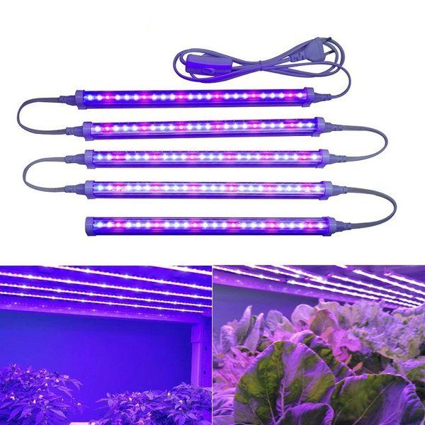 Grow Light usine Lumière 12W Phyto lampe croissance conduit croissance Lumière pour les plantes Fitolampy T5 semis de fleurs des plantes d'intérieur