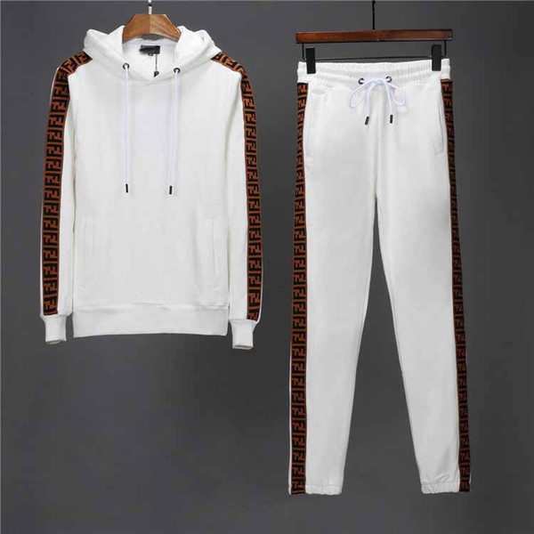 2019hot Männer Trainingsanzüge Mäntel Männer Medusa Sportanzug Sweatshirts Anzüge Herren Sportbekleidung Trainingsanzug Set Fashion Hoodies Jacke Sets