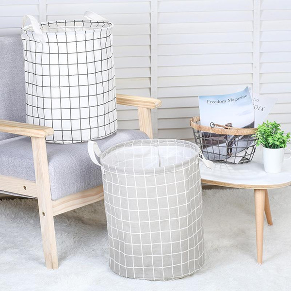New 1 Pcs Foldable Laundry Basket 2019 Hot Selling Large Capacity Dirty Clothes Organizer Laundry Bags Baskets For Home Clothes Toys