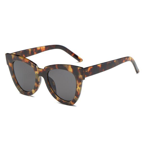 Cat's Eye Sunglasses Box-shaped Ocean-film Sunglasses Fashion Accessories For Men and Women