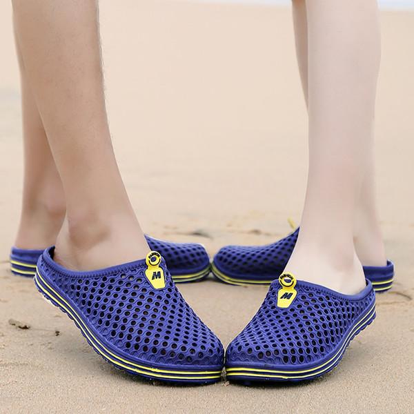 Sandalias de verano para hombres Sandalias de agua para hombres Ocio Playa Sandalias transpirables Zapatillas Gladiador Sandalias Hombre # G4