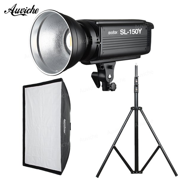 GODOX SL-150Y SL150Y 3300K Studio LED Video light Fill light Photography lights kit for Child portrait product photography video