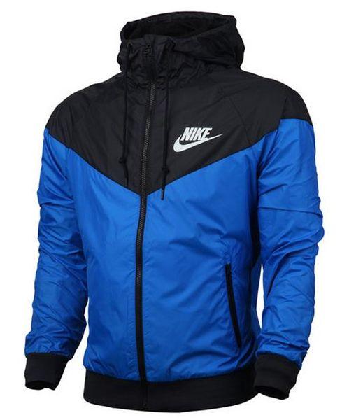 NIKE Erkek Kadın Ceket Kaban Uzun Kollu Fermuar Windcheater ceket ince ceket