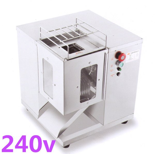 Free shipping 240v QSJ-T hot selling Multifunction meat cutter machine, 250KG /HR, meat slicer meat dicing