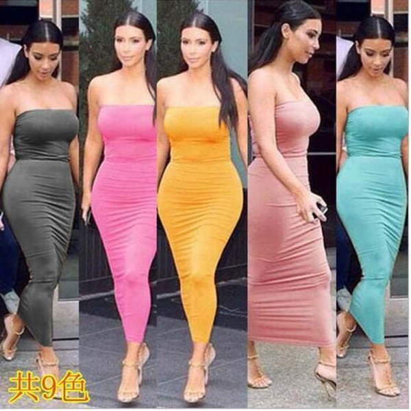 Women Sexy Tee Dress Casual Summer Long Dresses Sleeveless Backless Dresses Fashion club party Tight dress very hot