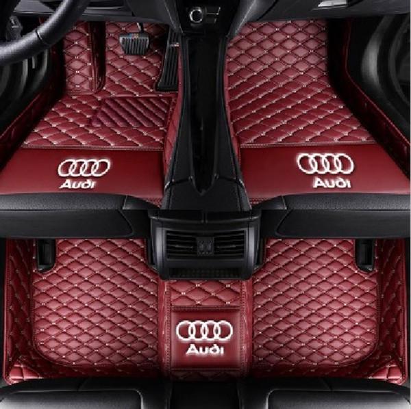 Применимо к Audi RS 4 2017 автомобиля коврик противоскользящий интерьер мат шить все экологически чистые нетоксичные мат