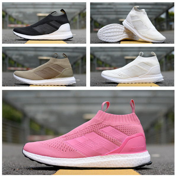 Mens And Womens 2018 New ACE 16+ Pure Control Ultra Sole Running Shoes For Sale Boost Beckham Uncaged Casual Socks Shoes Top quality for Men